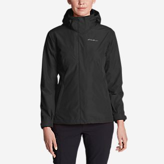 Women's Lone Peak 3-In-1 Jacket in Black