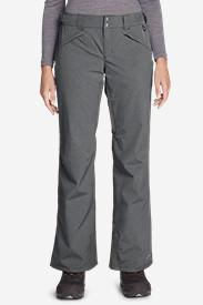 Women's Powder Search Shell Pants in Gray