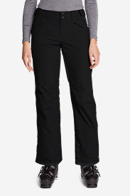 Women's Powder Search Shell Pants in Black