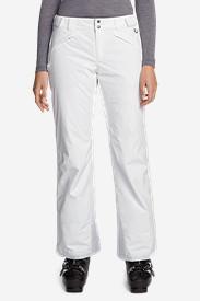Women's Powder Search Shell Pants in White