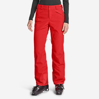 Women's Powder Search 2.0 Insulated Pants in Red