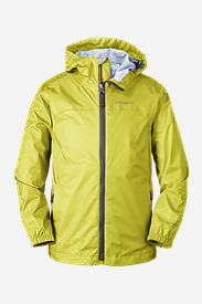 Boys' Cloud Cap Rain Jacket in Green