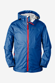 Boys' Cloud Cap Rain Jacket in Blue