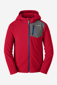 Boys' Cloud Layer Hoodie in Red