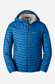 Boys' MicroTherm® Hooded Jacket in Blue