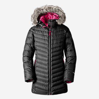 Girls' Sun Valley Down Parka in Black