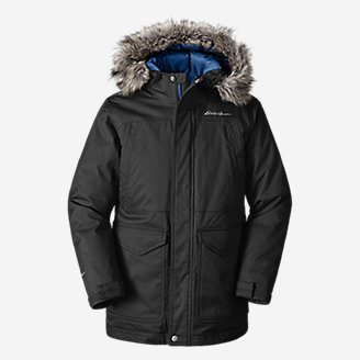 Boys' Superior Down Parka in Black