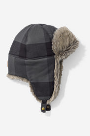 Hadlock Trapper Hat in Black