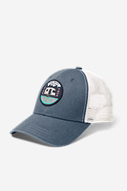 Graphic Snap Back Cap - Airstream in Blue