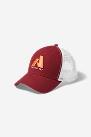 Graphic Hat - First Ascent in Brown