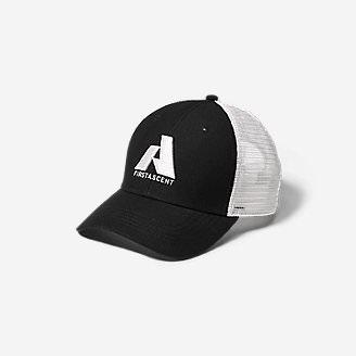 Graphic Hat - First Ascent in Black