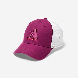 Graphic Hat - First Ascent in Purple
