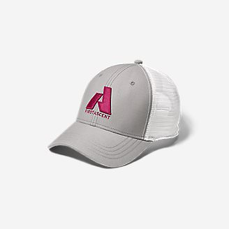 Graphic Hat - First Ascent in Pink