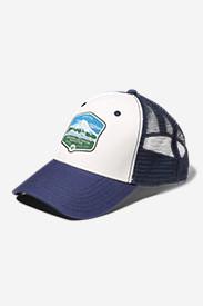 Graphic Hat - Mt. Rainier in Blue