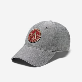 Graphic Hat - Chambray Tent in Gray