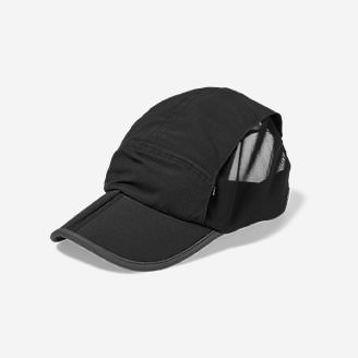 Resolution Packable UPF Cap in Black