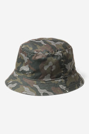 Men's Reversible Bucket Hat in Brown