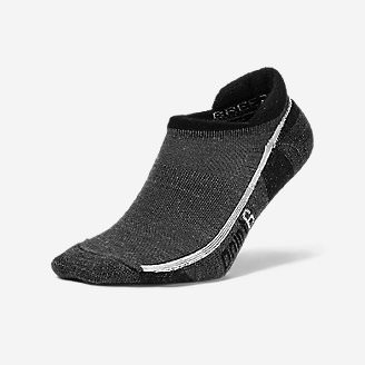 Point6 Pro Tab Socks in Gray