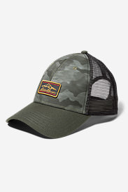 Graphic Hat - Camo Mountain in Green