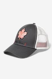 Graphic Cap - Maple Leaf in Brown