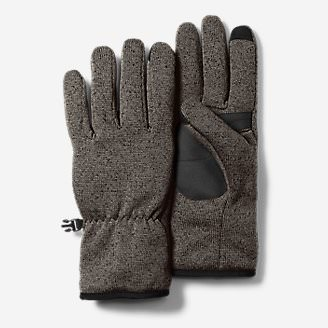 Radiator Fleece Gloves in Gray