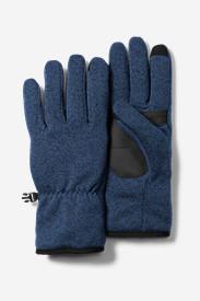 Radiator Fleece Gloves in Blue