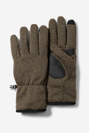 Radiator Fleece Gloves in Green