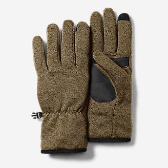 Radiator Fleece Gloves in Beige