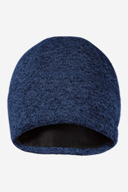 Radiator Fleece Beanie in Blue