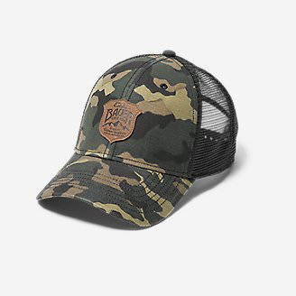 Graphic Cap - Debossed Shield in Green