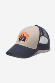 Graphic Cap - EB Mountain in Blue