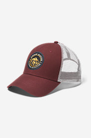 Graphic Cap - Outdoor Outfitter in Brown