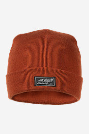 Thistle Beanie in Orange