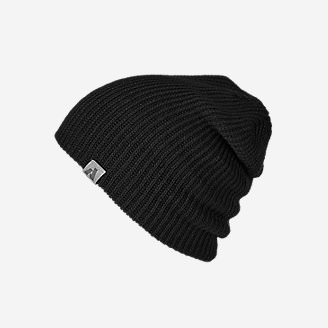 First Ascent Slouch Beanie in Black