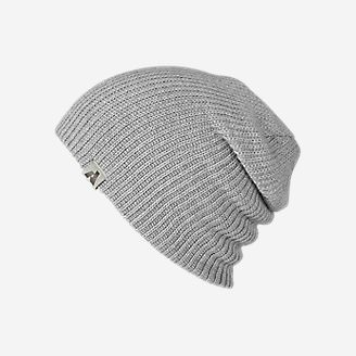 First Ascent Slouch Beanie in Gray