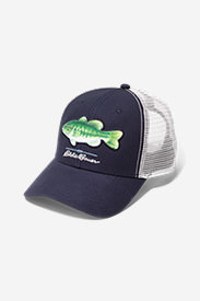 Graphic Hat - Fish in Blue