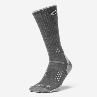 Point6 Light Hiker Crew Socks in Gray