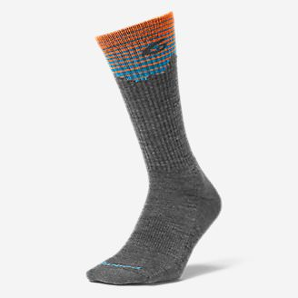 Point6® Hiking Peak Light Crew Socks in Gray