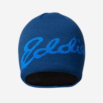 Eddie Bauer Logo Beanie in Blue