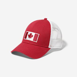 Graphic Cap - Canada in Red