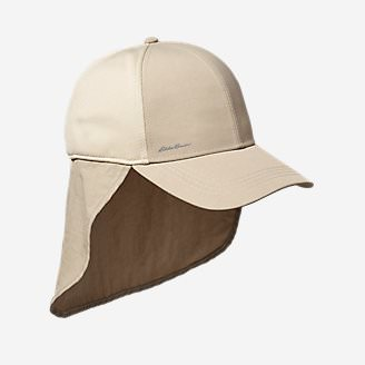 Exploration UPF Sun Mullet Cap in Beige