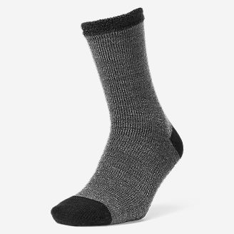 Men's Fireside Lounge Socks in Gray