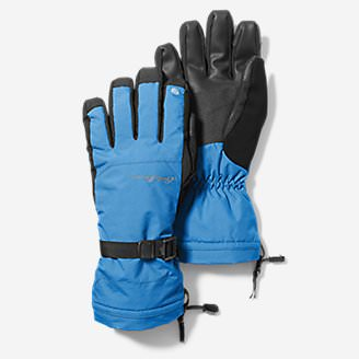 Powder Search Touchscreen Gloves in Blue