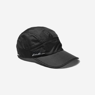 Men's Waterproof Baseball Cap in Black