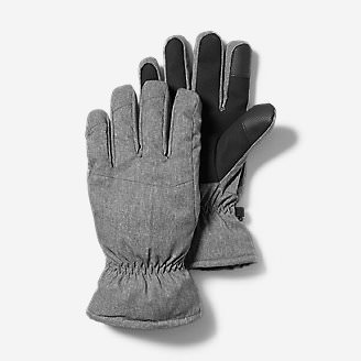 Men's Boundary Pass Down Gloves in Gray