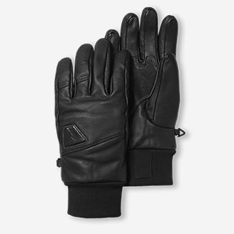 Mountain Ops Leather Gloves in Black