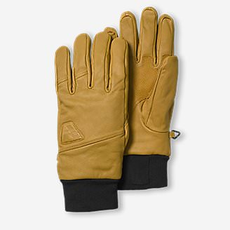 Mountain Ops Leather Gloves in White