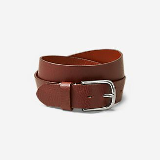 Men's  Leather Jean Belt in Brown