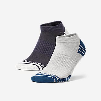 Men's Active Pro COOLMAX Low Socks - 2 Pack in Blue