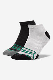 Men's Active Pro COOLMAX® Low Socks - 2 Pack in Green
